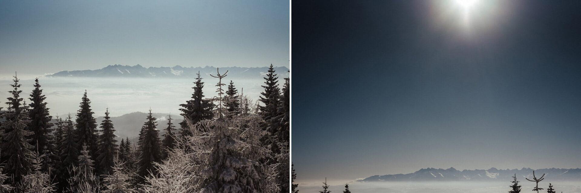 Zimowa sesja narzeczeńska w górach 13