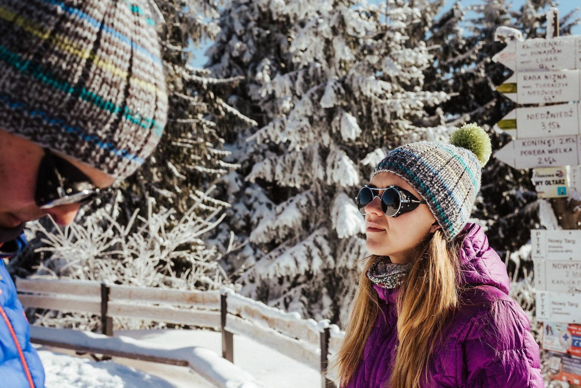 Zimowa sesja narzeczeńska w górach 14