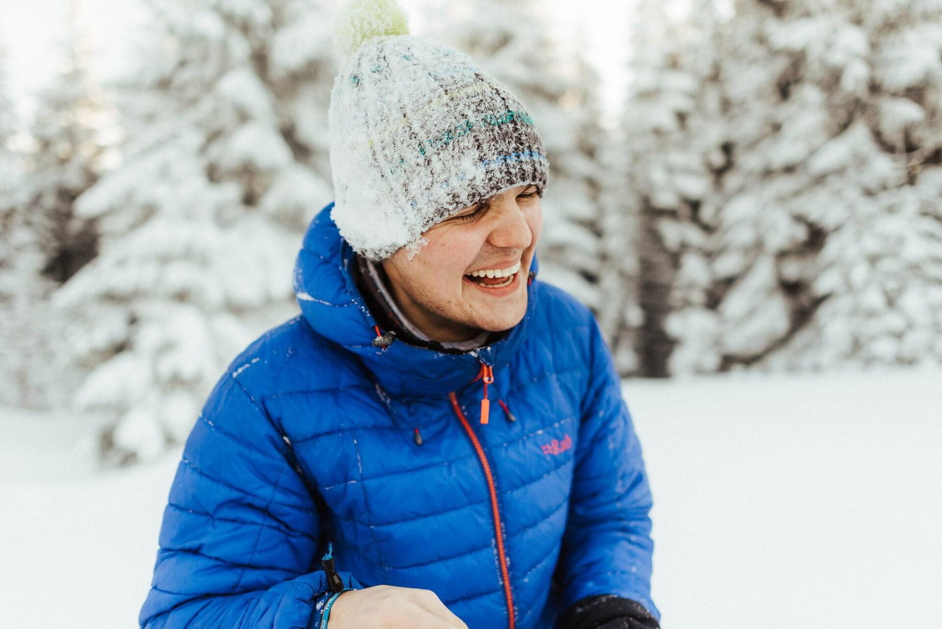 Zimowa sesja narzeczeńska w górach 33
