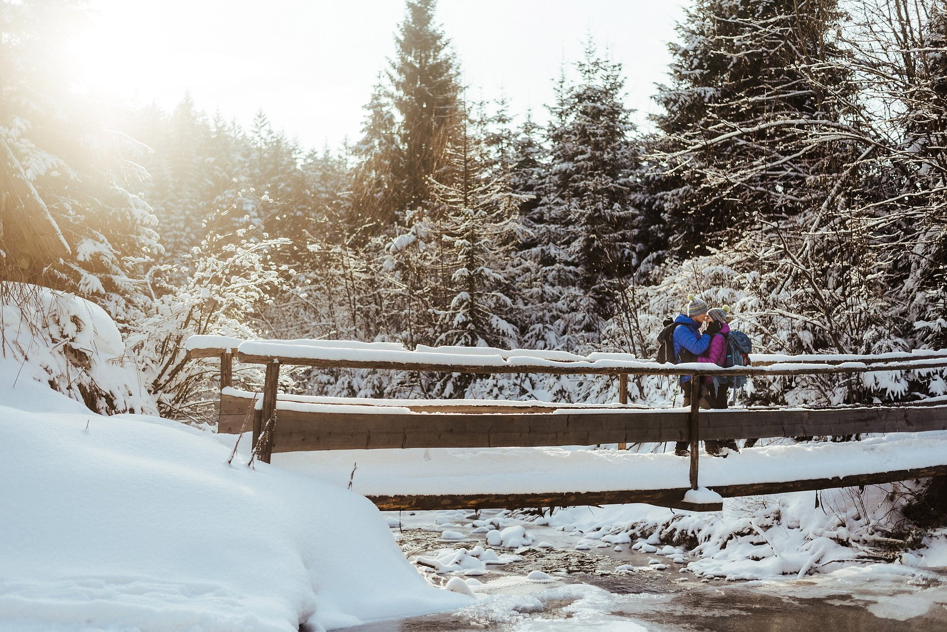 Zimowa sesja narzeczeńska w górach 41